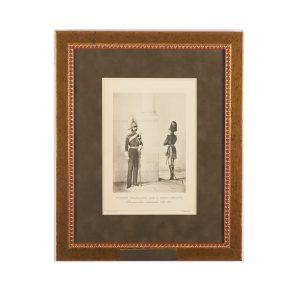 Рядовой Жандармского полка и Обер-Офицер Жандармских дивизионов 1845-1855 гг.