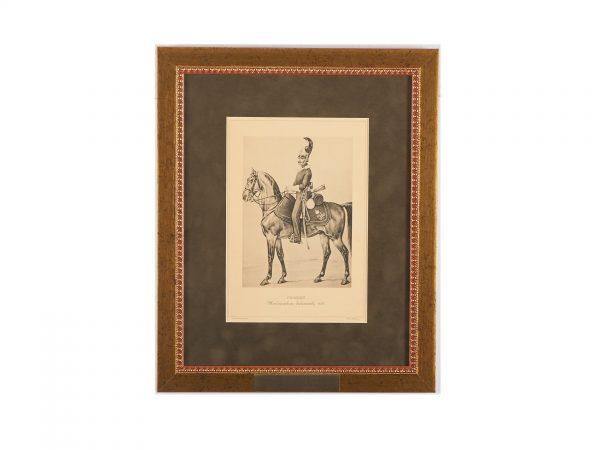 Рядовой Жандармских дивизионов 1826 г.